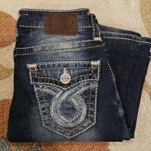 Big Star sweet boot Jeans size 24 x 31 stretch